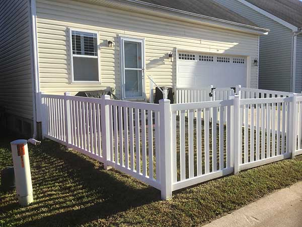 Exterior Residential Fence