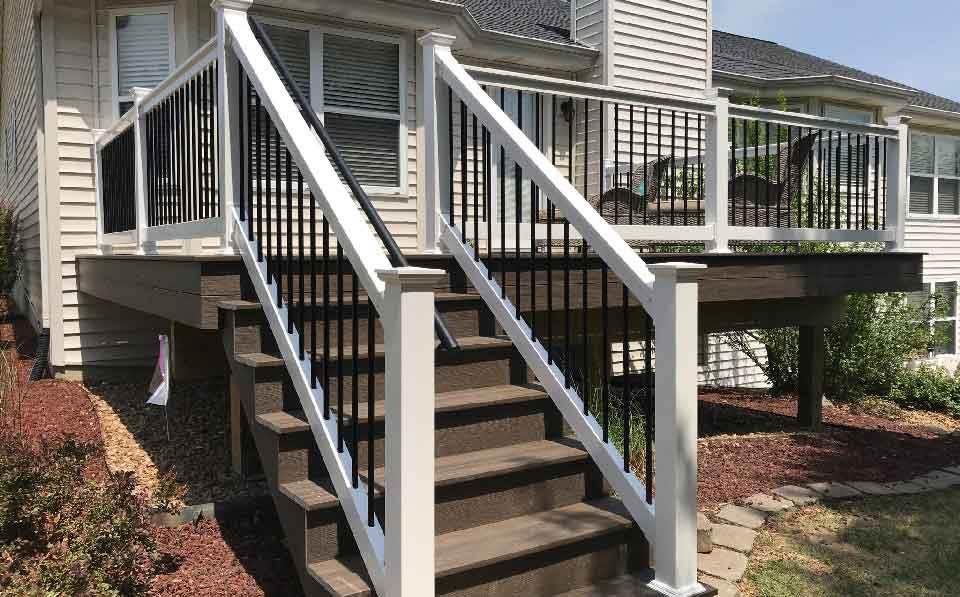 Deck Wood Stairs